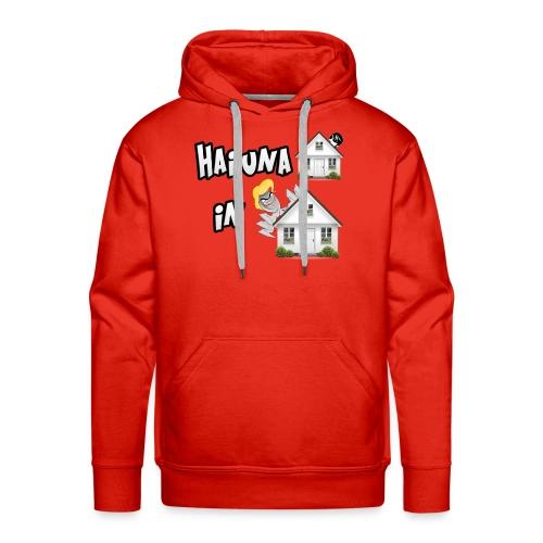 T-Shirt Hai una Casa in Casa - Felpa con cappuccio premium da uomo