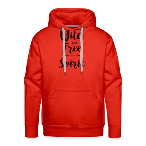 Wild-and-Free-Spirit - Men's Premium Hoodie