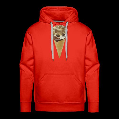 Low-poly_Ice_Cream - Mannen Premium hoodie