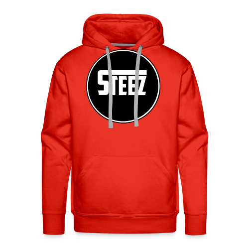 Steez logo white - Mannen Premium hoodie