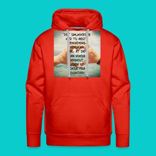 Bedste veninder - Herre Premium hættetrøje