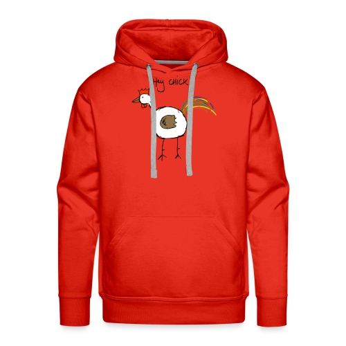 hey_chick_color - Mannen Premium hoodie