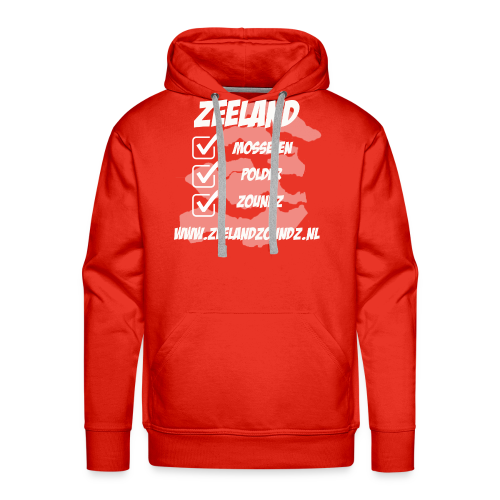 Mosselen - Polder - ZoundZ - Mannen Premium hoodie