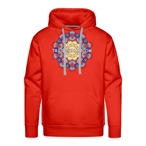 Enjoyably Quirky Colouring Book Design 7 - Men's Premium Hoodie