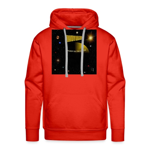 Walkin' on the earth - Sweat-shirt à capuche Premium pour hommes