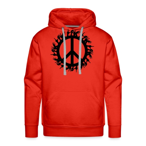 Peace 4 the World - Männer Premium Hoodie
