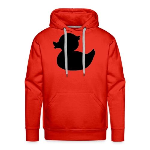 Duck Black - Mannen Premium hoodie
