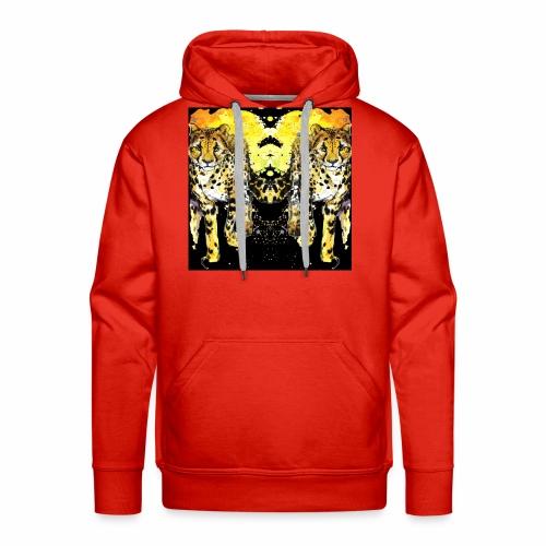 Karo Style Tiger - Männer Premium Hoodie