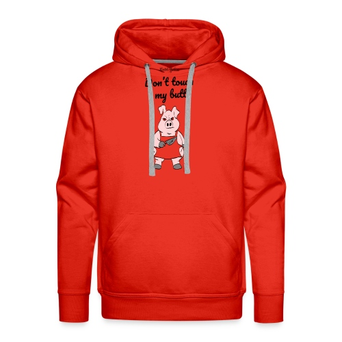 dont touch my butt, serial grillaz shirt - Mannen Premium hoodie