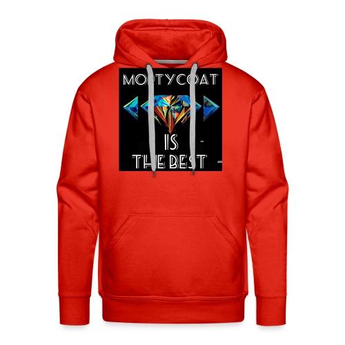 mortycoat diamond design - Men's Premium Hoodie