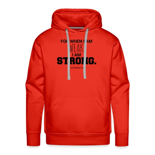 I Am Strong - Men's Premium Hoodie