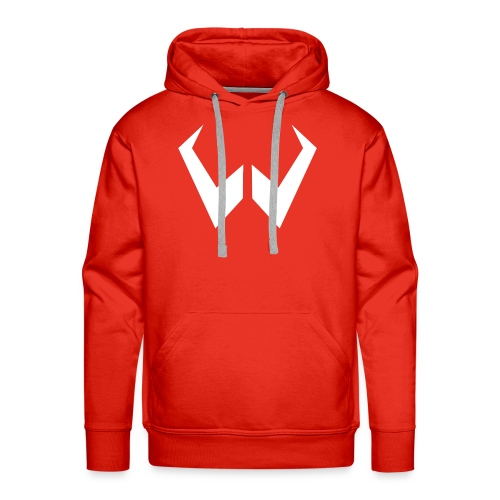 logo de without gravity pk - Sudadera con capucha premium para hombre