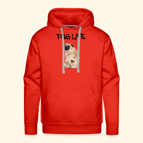 Pug Life - Men's Premium Hoodie