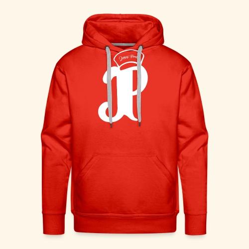 Jimini Prod' Logo Blanc - Sweat-shirt à capuche Premium pour hommes