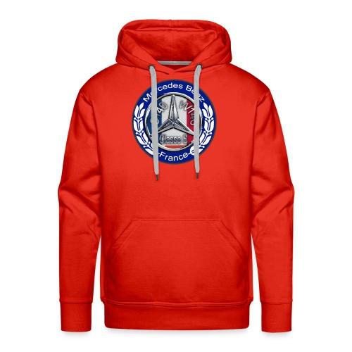 Logo Officiel Assos : MB Classe S W140 C140 France - Sweat-shirt à capuche Premium pour hommes