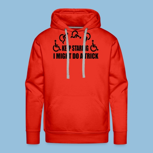 Mightdoatrick1 - Mannen Premium hoodie