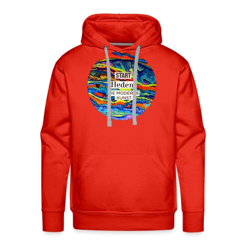 Start Heden de moderne kunst - Mannen Premium hoodie