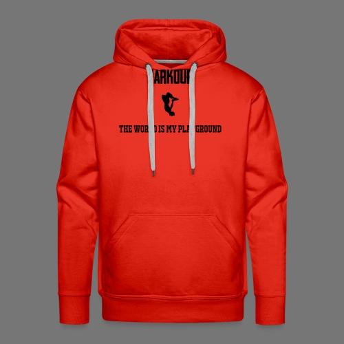 World is my playground - Mannen Premium hoodie