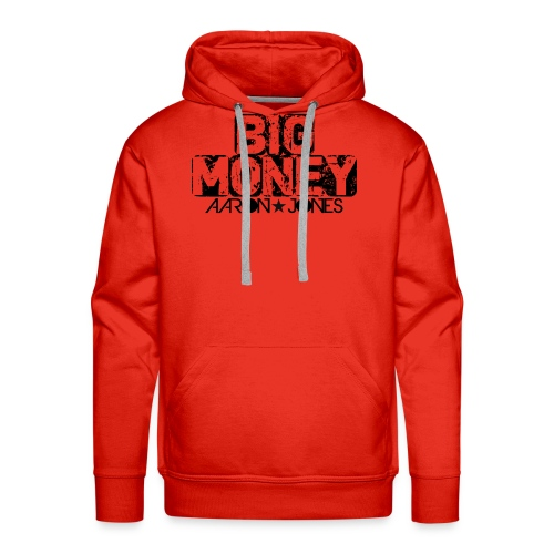 Big Money aaron jones - Felpa con cappuccio premium da uomo
