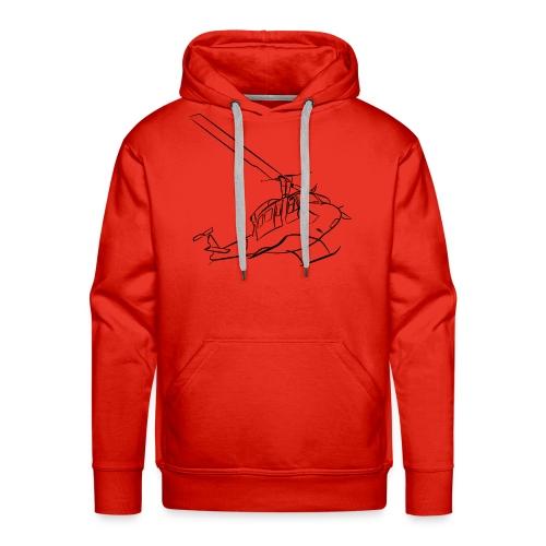 Bell212 - Mannen Premium hoodie