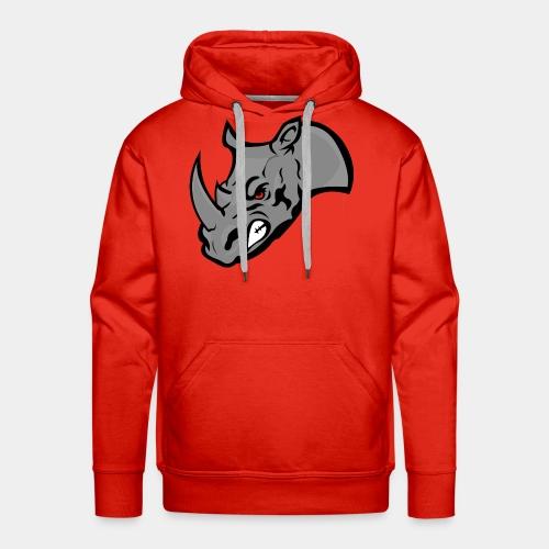 Rhino Mascot design - Men's Premium Hoodie