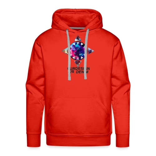 OD-ID: 005 THE VOID UNLEASHED - Men's Premium Hoodie