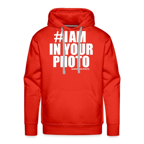 I AM IN YOUR PHOTO T-shirt Women - Mannen Premium hoodie