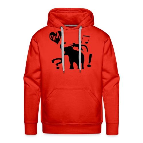 Life is Beautifull - Sweat-shirt à capuche Premium pour hommes
