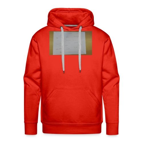 a3 - Mannen Premium hoodie