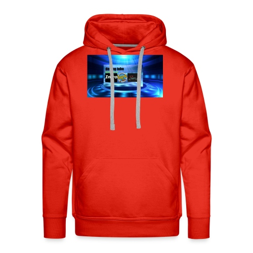 full banner t-shirt - Mannen Premium hoodie