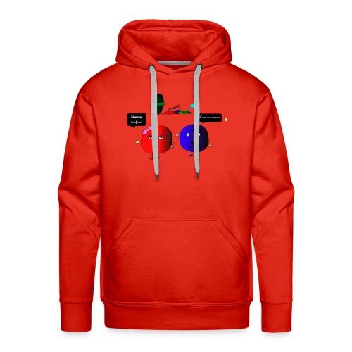 Diseño parchís camiseta - Sudadera con capucha premium para hombre