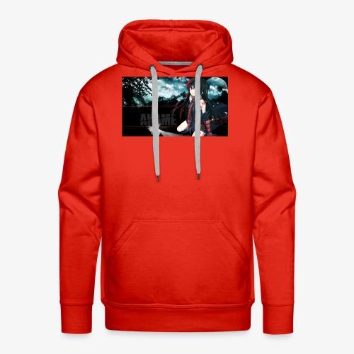 Akame ga Kill // Black Pullover Akame Picture - Männer Premium Hoodie