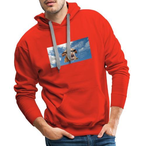 Dog thuglife - Herre Premium hættetrøje