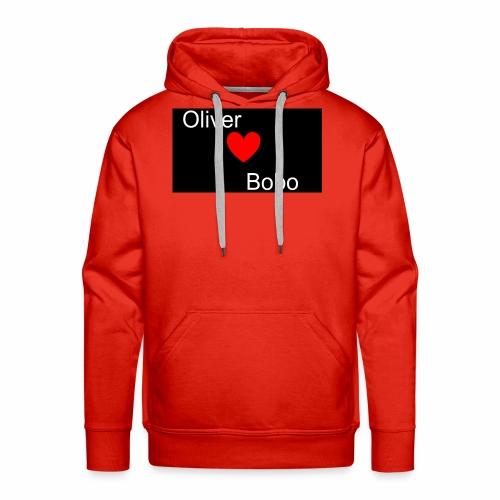 Oliver love Bobo - Premiumluvtröja herr