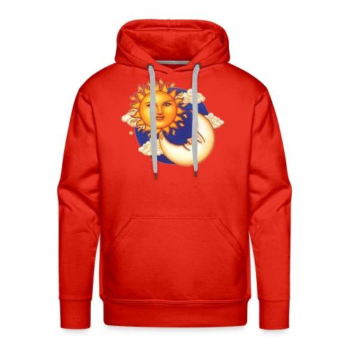 Sun and moon - Mannen Premium hoodie
