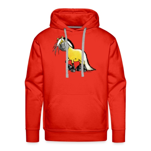 fjord_horse - Männer Premium Hoodie