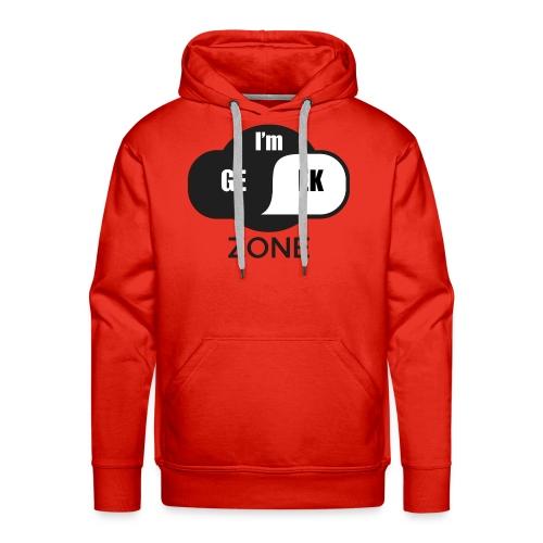 Geek zone - Sweat-shirt à capuche Premium pour hommes