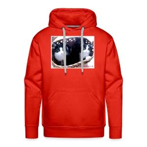 Katzenkorb - Männer Premium Hoodie