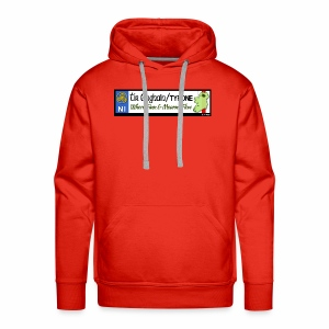 TYRONE, NORTHERN IRELAND licence plate tags decal - Men's Premium Hoodie
