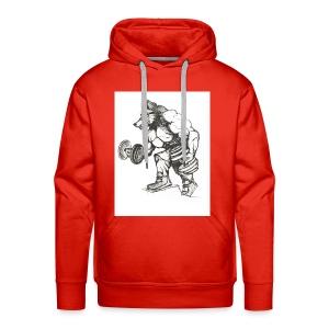 Wolfey Me - Men's Premium Hoodie