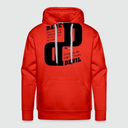 dare - Mannen Premium hoodie