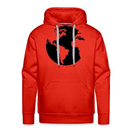 Mi mundo - Sudadera con capucha premium para hombre