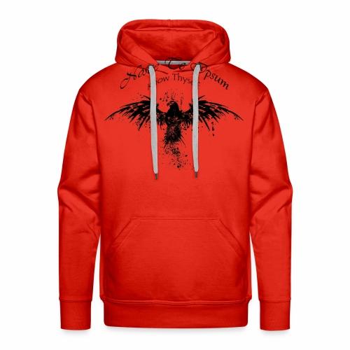 Eagle Splatter Design - Men's Premium Hoodie