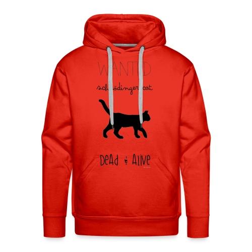 Schrödinger cat - Sudadera con capucha premium para hombre