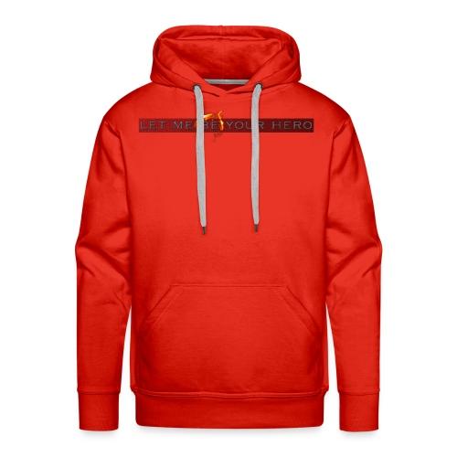 camisetas para parejas enamoradas - Sudadera con capucha premium para hombre