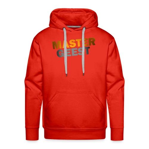 Mastergeest T-Shirt met lange mouwen - Mannen Premium hoodie