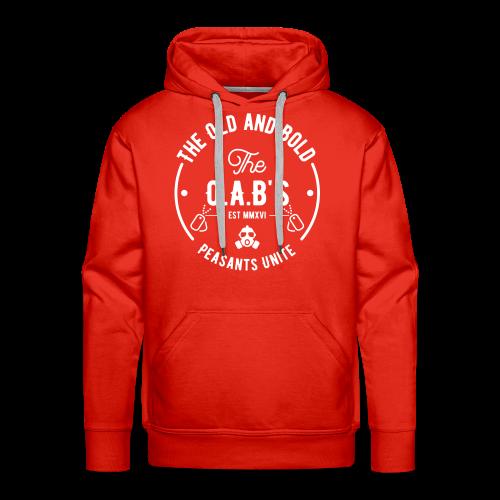 OAB unite white - Men's Premium Hoodie