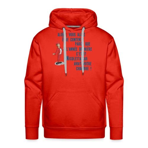 Nicoletta - Sweat-shirt à capuche Premium pour hommes