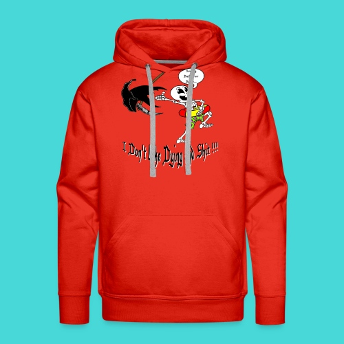 Happy Living Skeleton - Mannen Premium hoodie