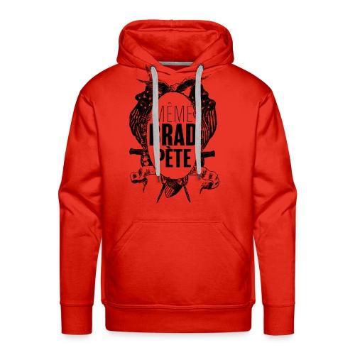 Même Brad Pète - Sweat-shirt à capuche Premium pour hommes